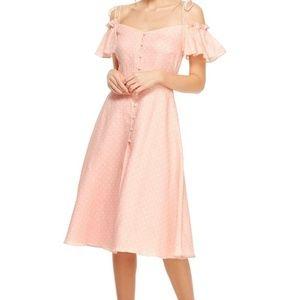 "Gal Meets Glam Dresses - ❗️SOLD❗️Gal Meets Glam ""Colleen"" Dress Candy Ecru"